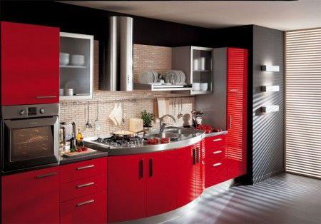 Цвет и дизайн кухни